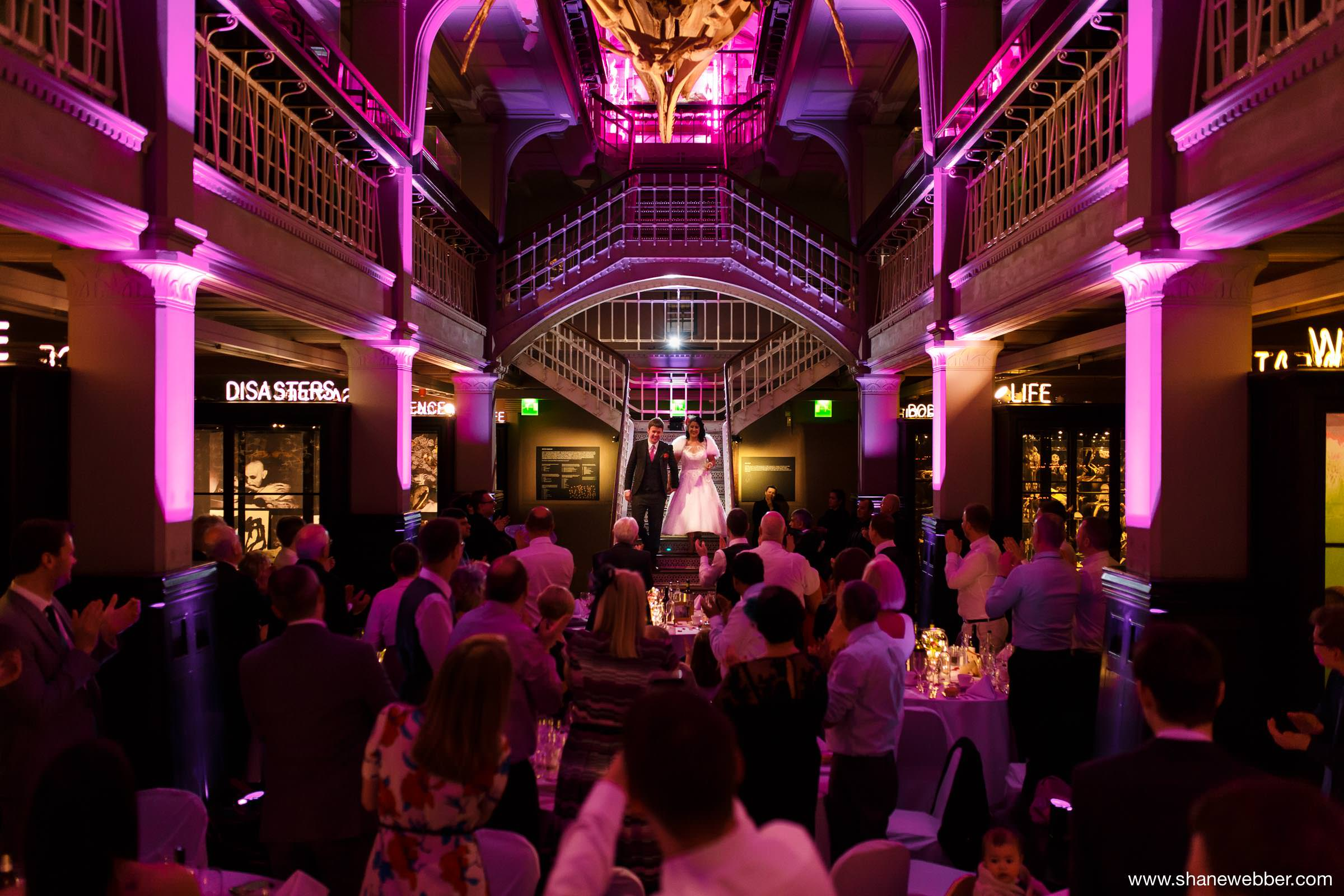 Manchester Museum Vintage Wedding Photography