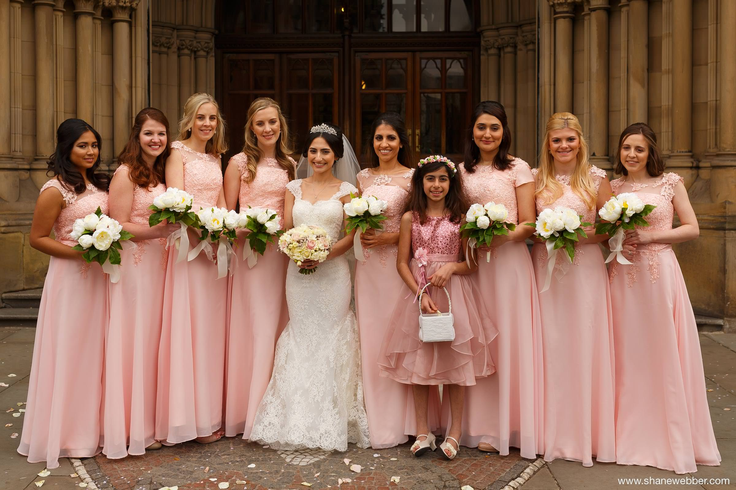 Town Hall Manchester wedding photography