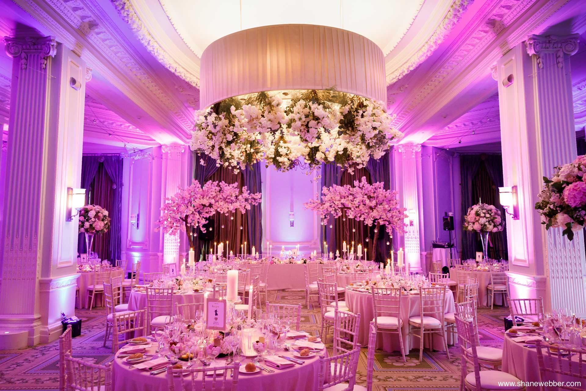 The Midland Manchester wedding reception