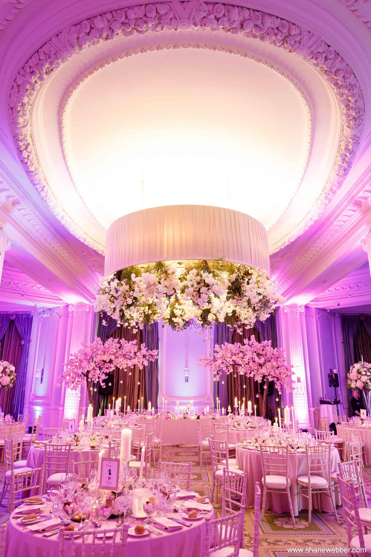 Luxury wedding decor at The Midland