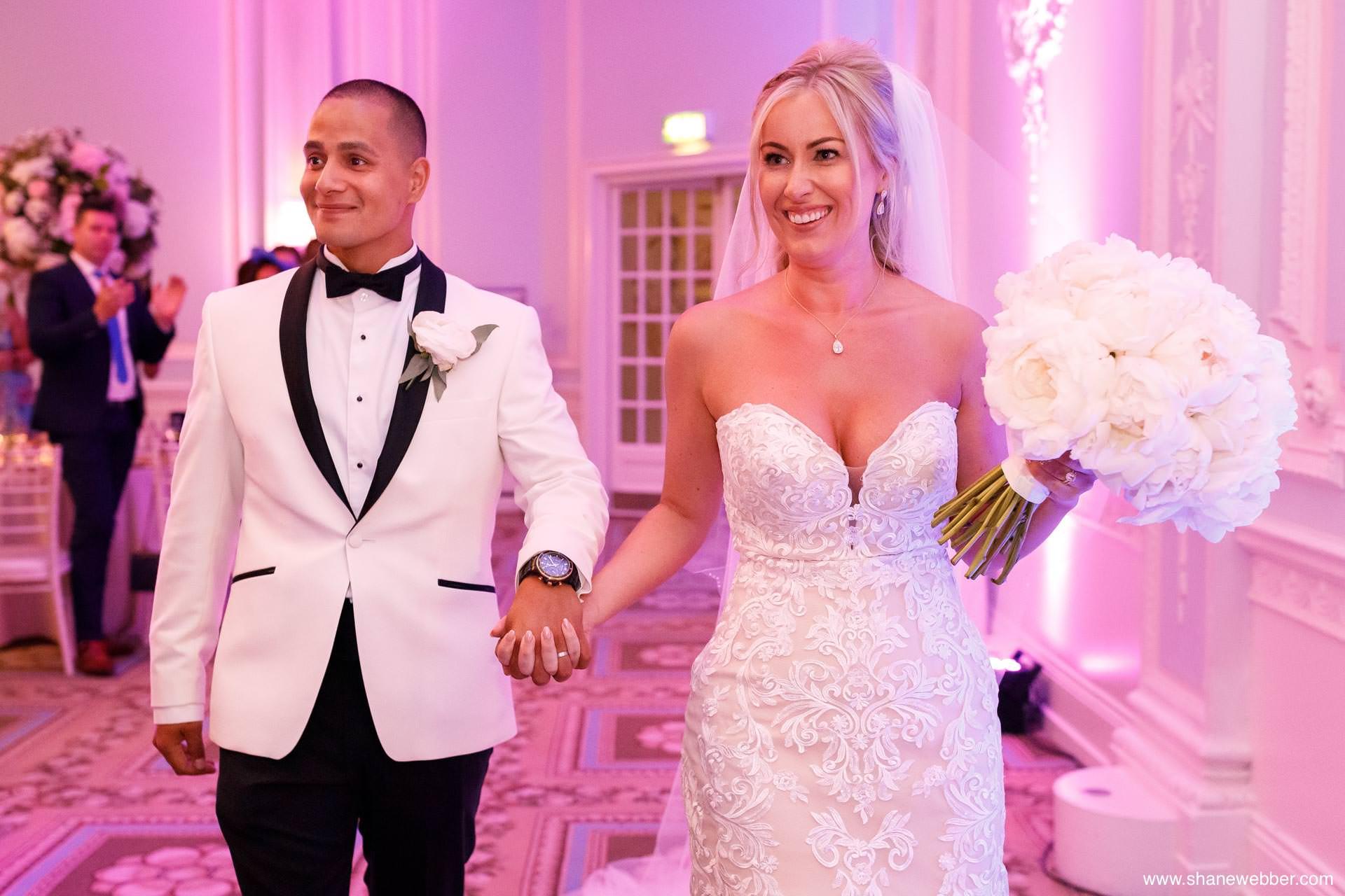 The Midland wedding reception