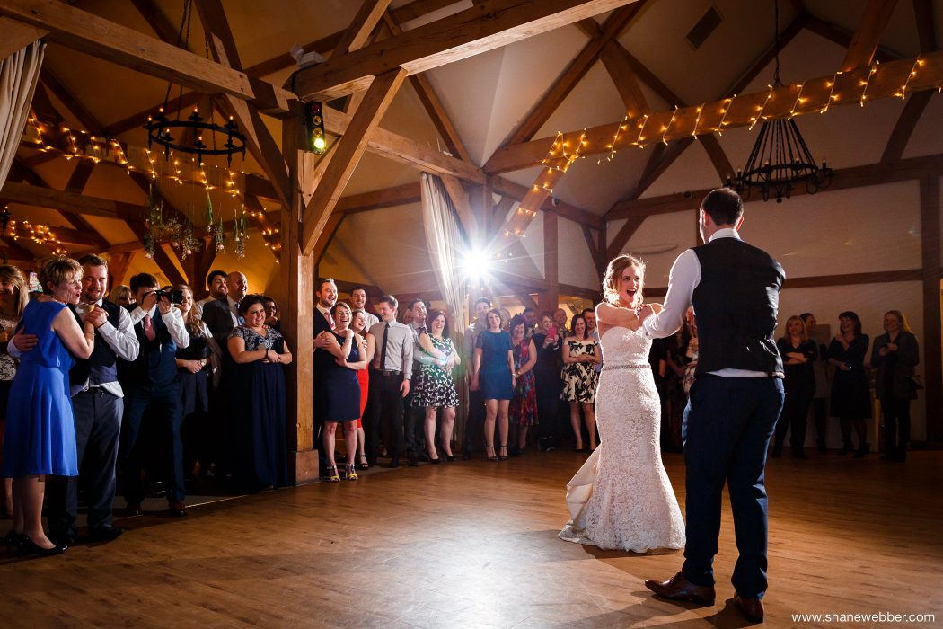 First dance at the barn