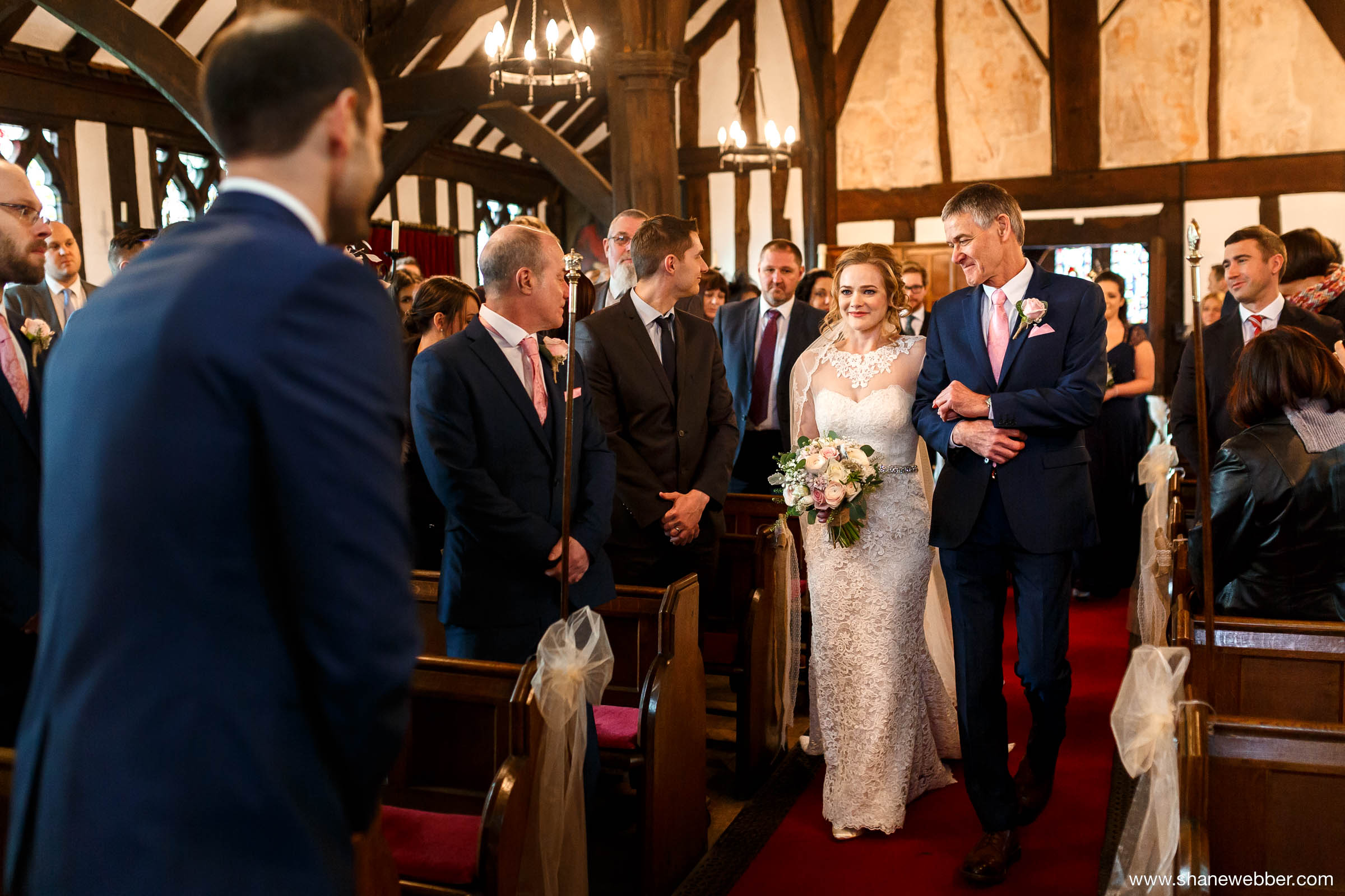 St James and St Paul's Church wedding photography
