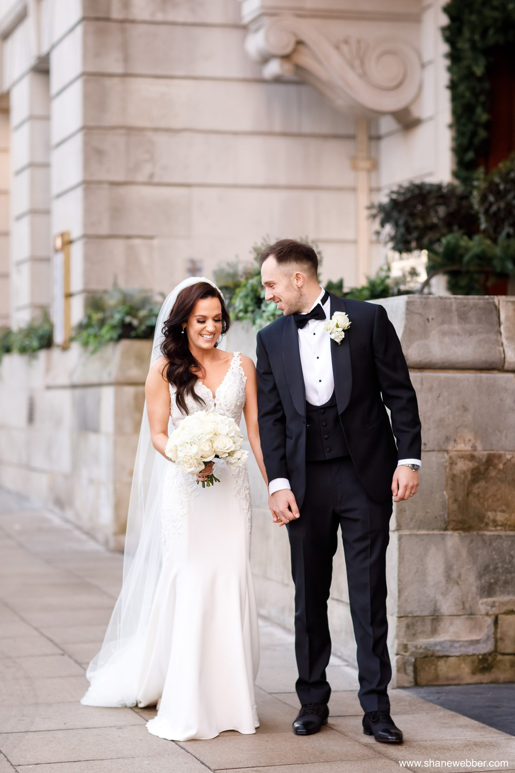 Manchester Hall winter wedding