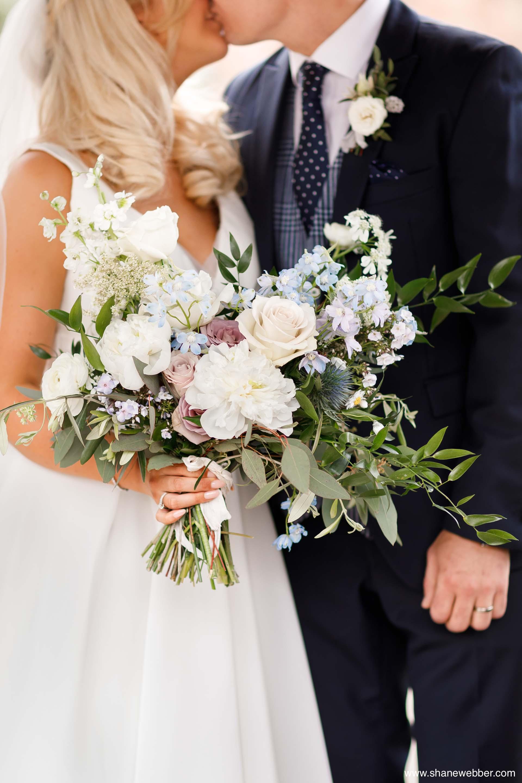 Sass flower wedding bouquet
