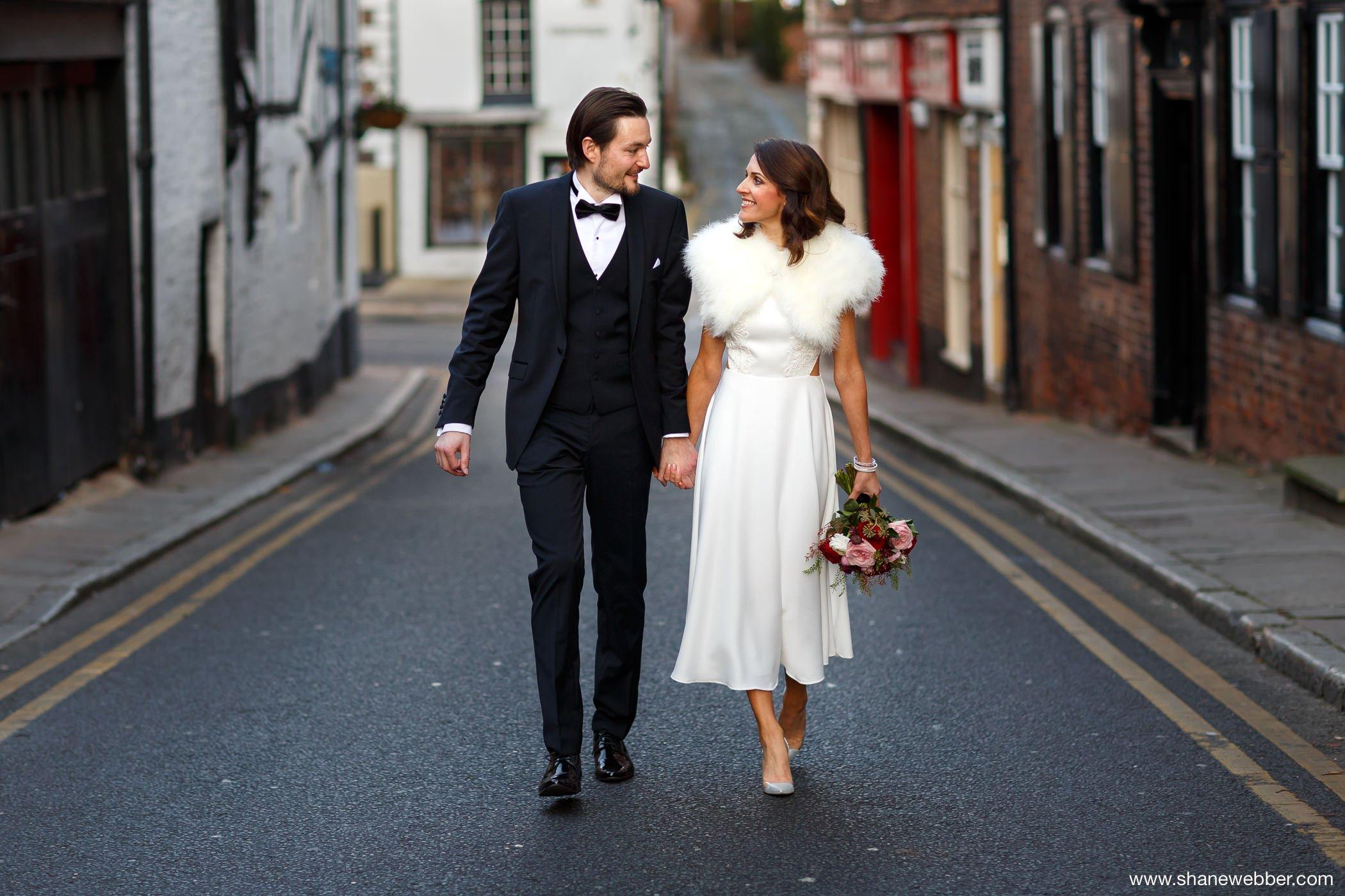 Wedding photos at Oddfellows Chester