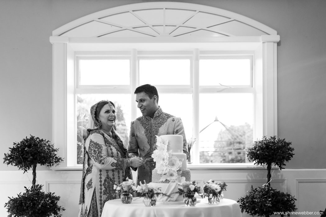 Creative black and white wedding pictures