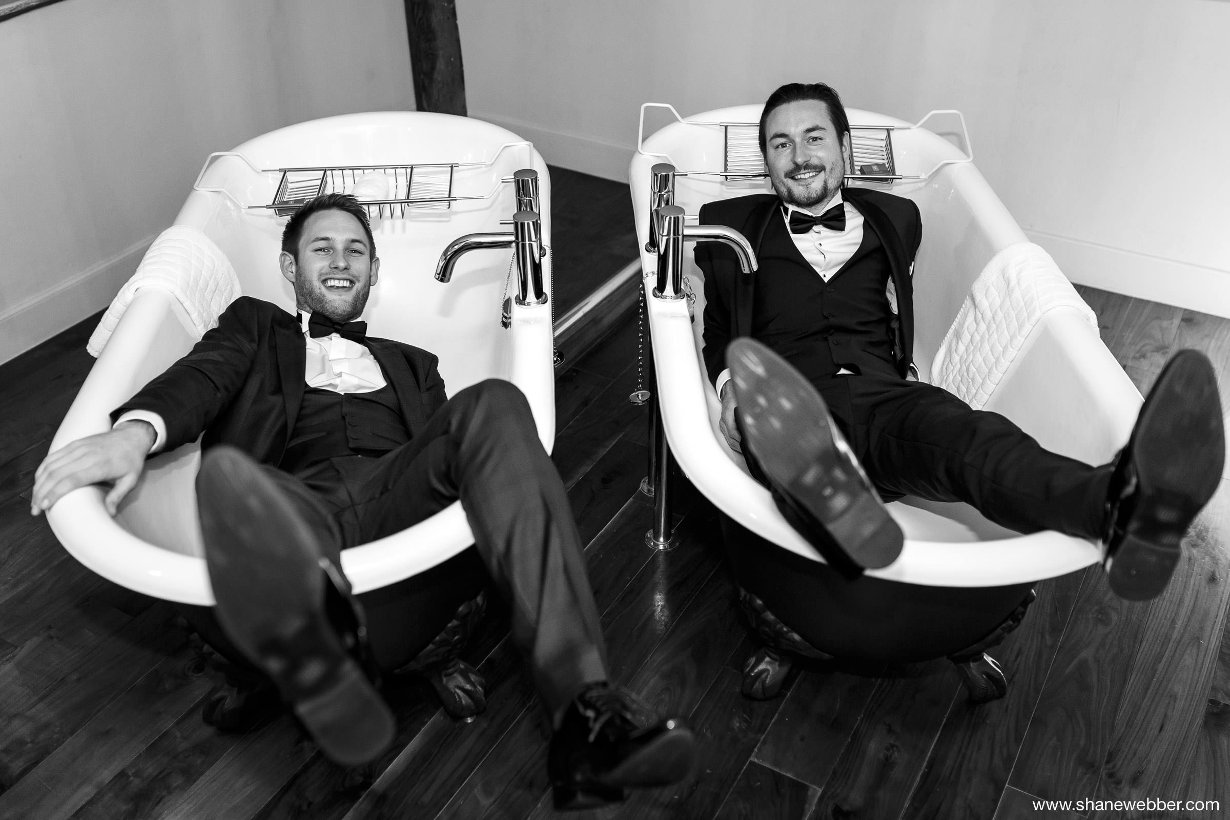 Groom and best man picture