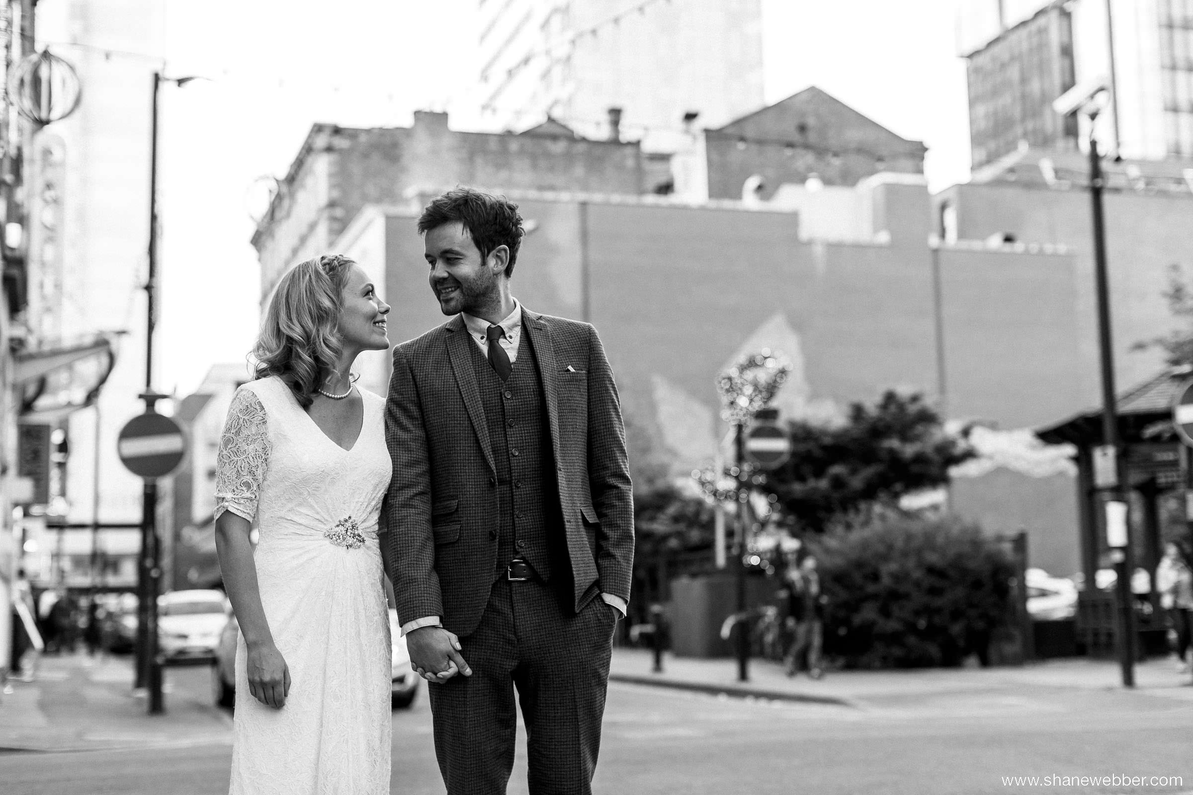 Urban wedding images