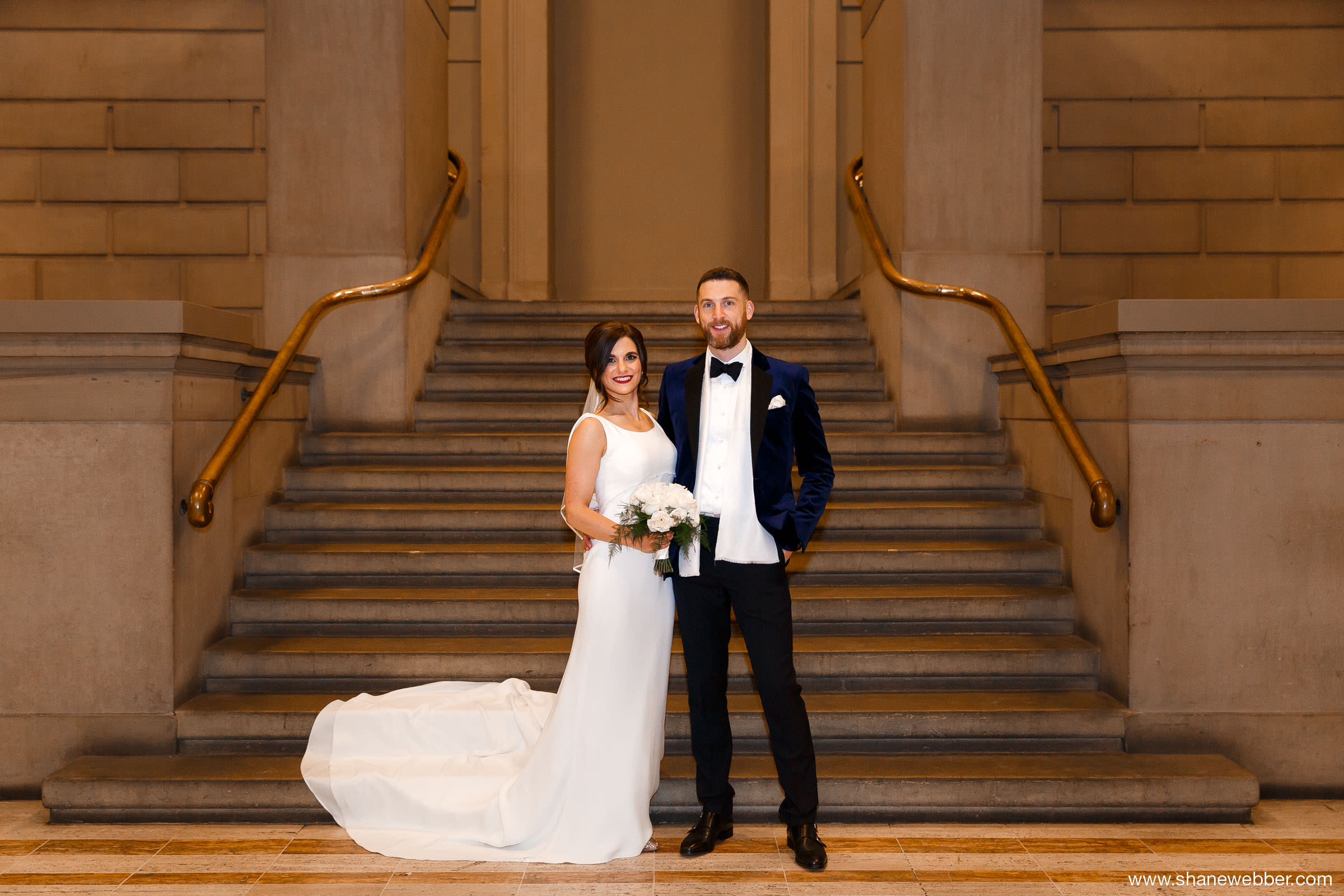 Manchester Art Gallery Winter Wedding Photography