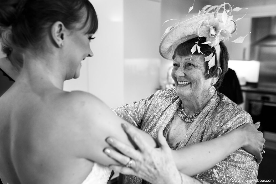 Bridal preparation at the Manor in Cheshire