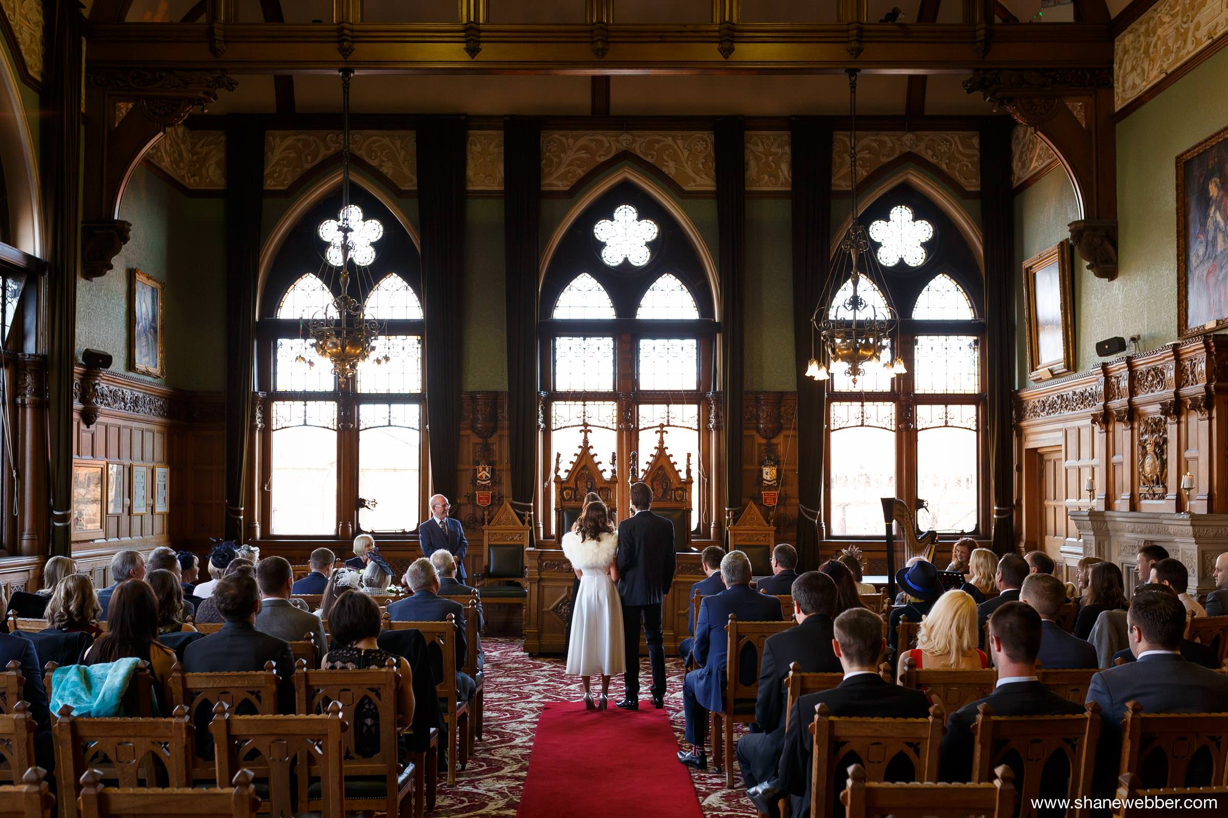 Weddings at the town hall in Chester