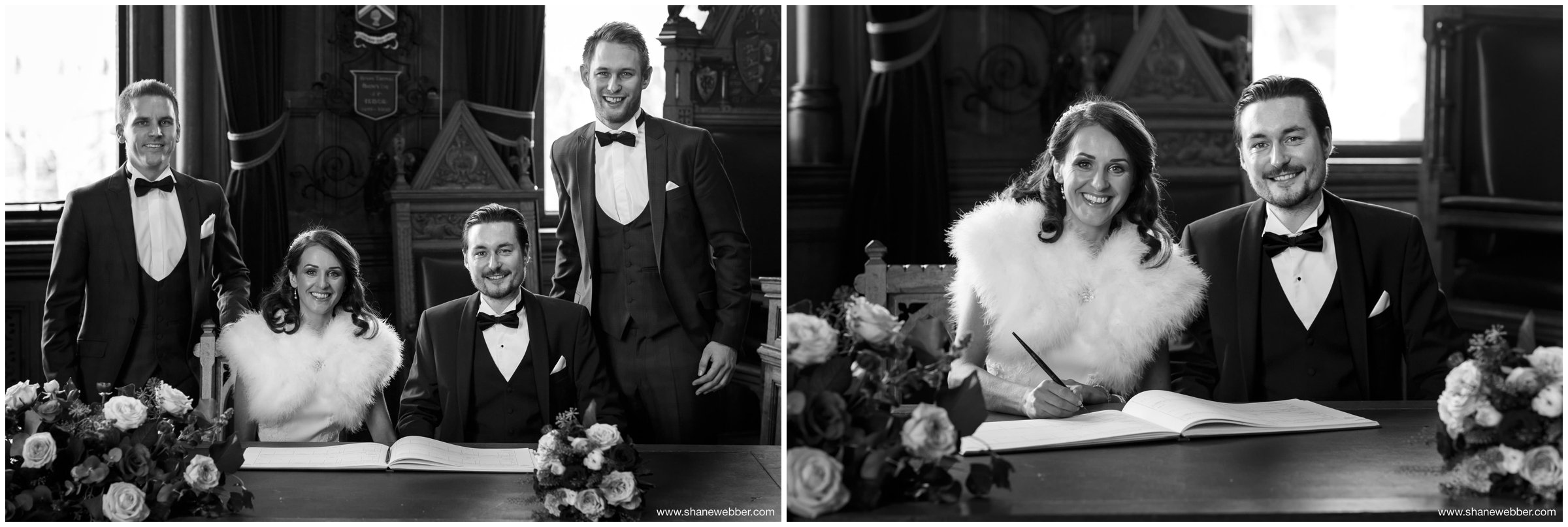 Luxury wedding photographs