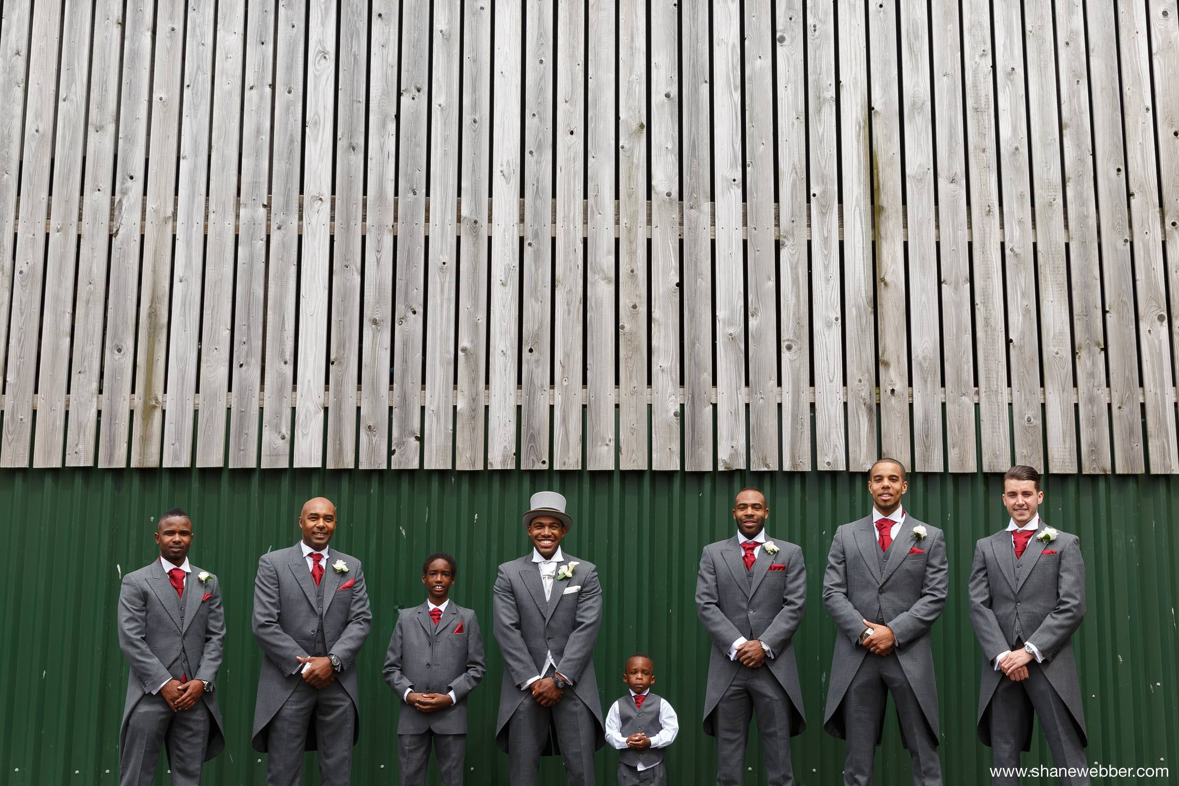 Photo of groomsmen