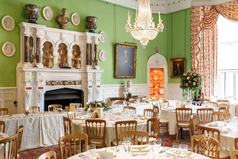 capesthorne hall wedding reception