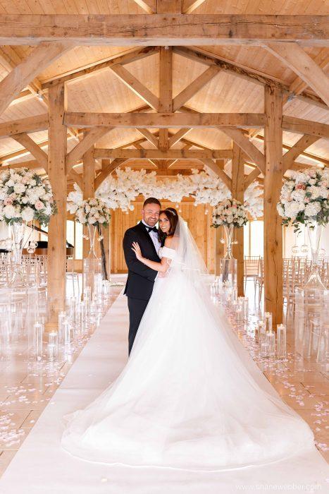 wedding ceremony Merrydale Manor