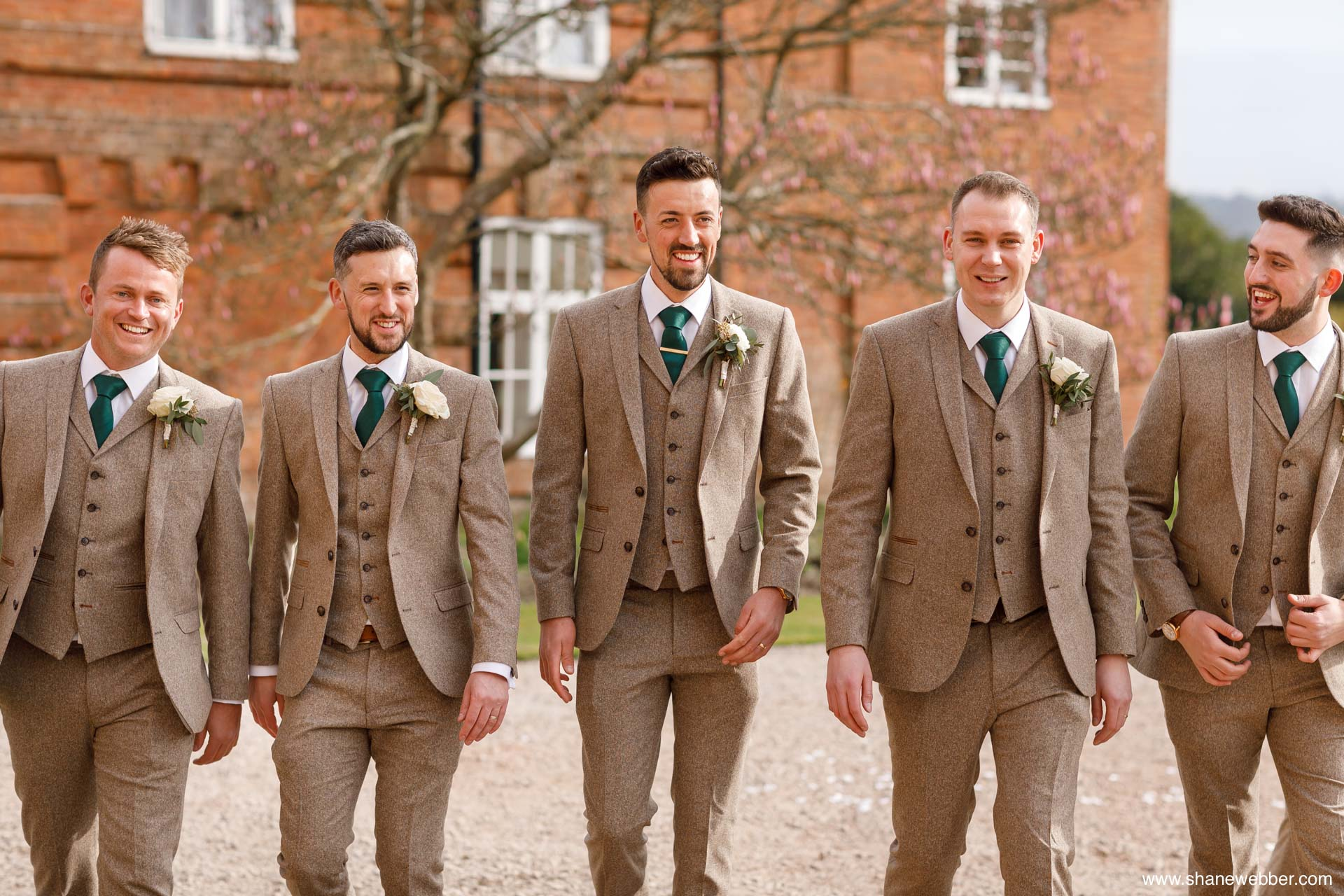tweed wedding day suits