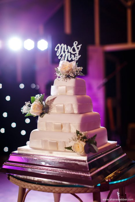 Wedding cake photograph