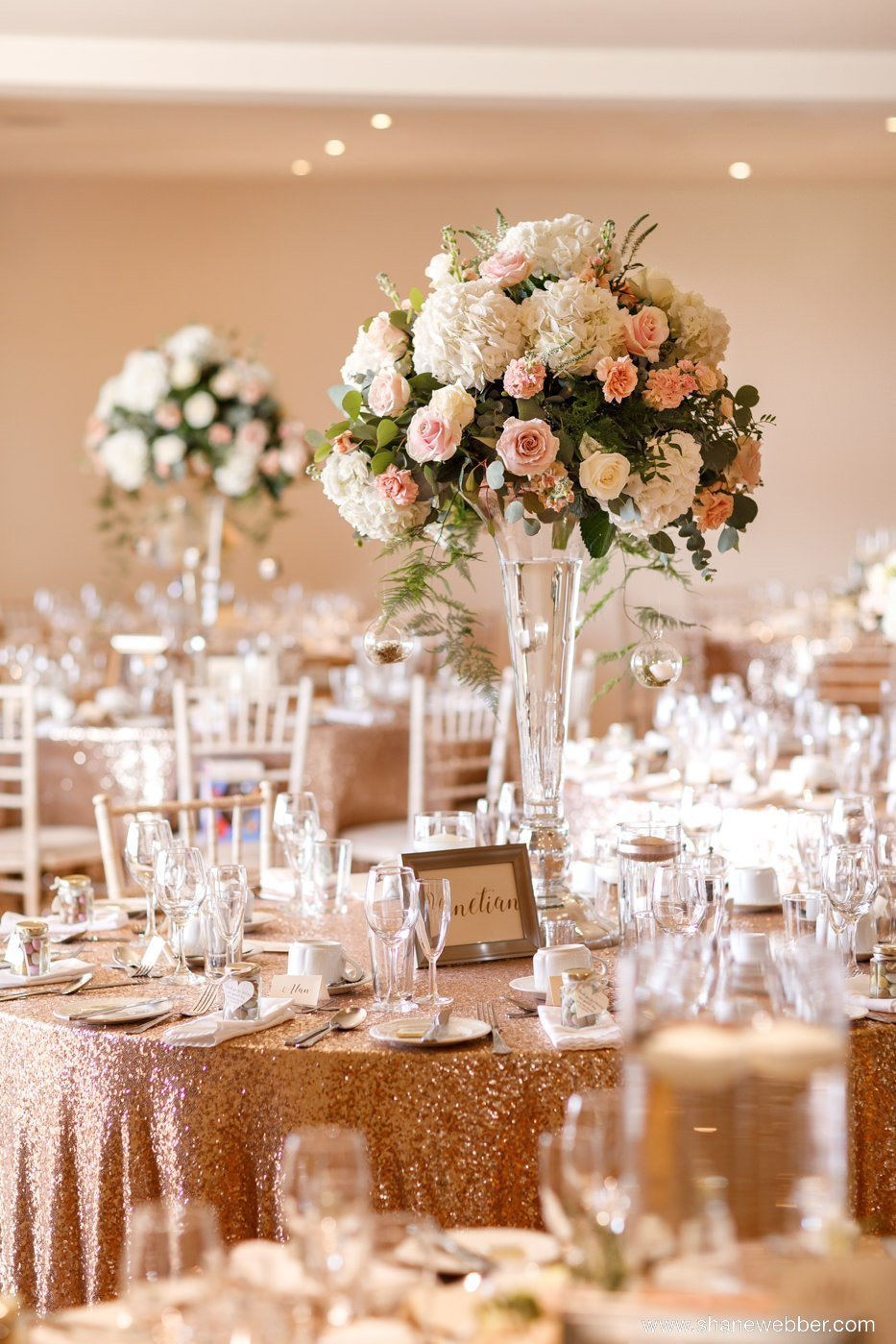 wedding flower centrepieces