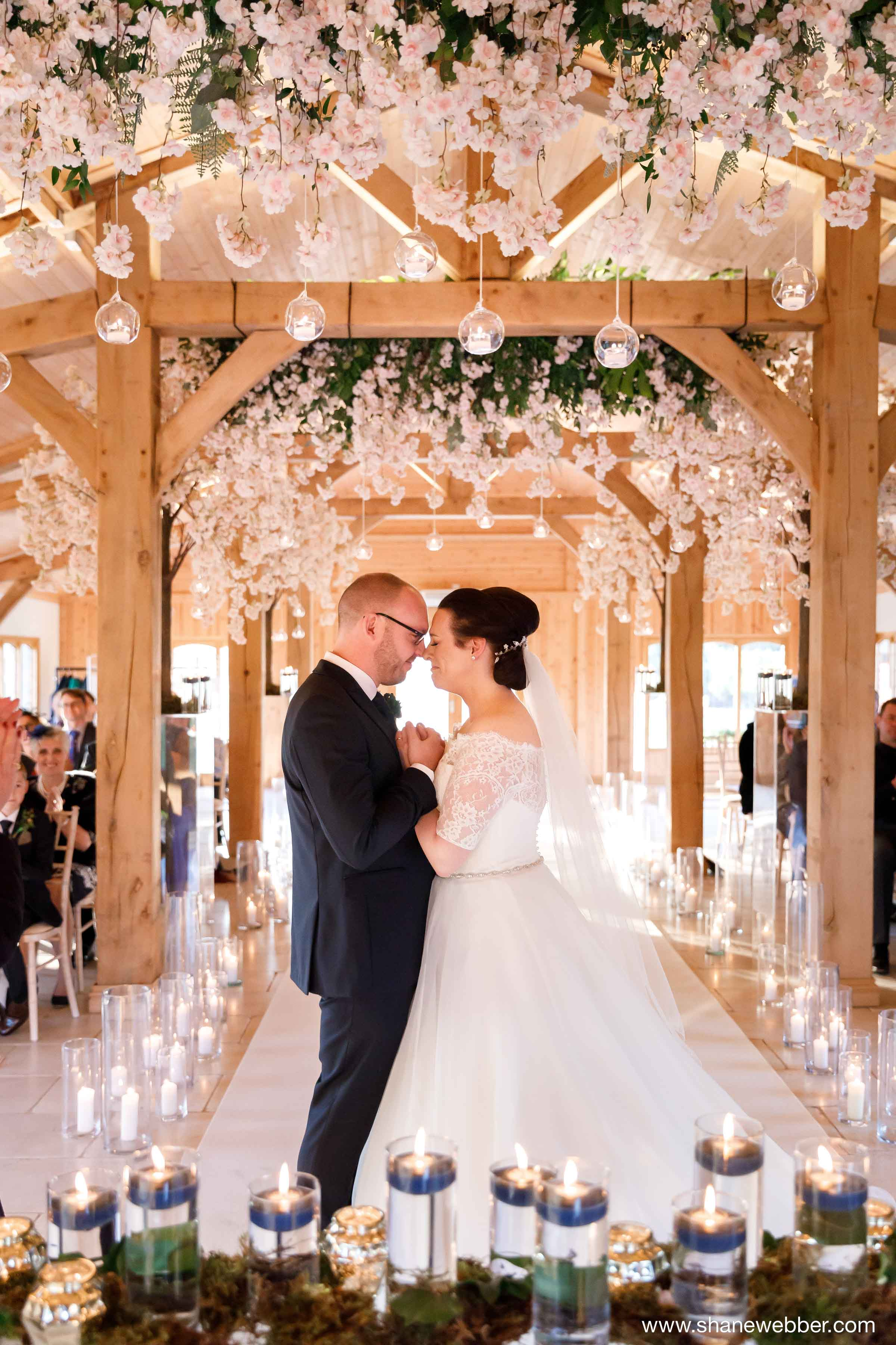 natural wedding photography at Colshaw Hall