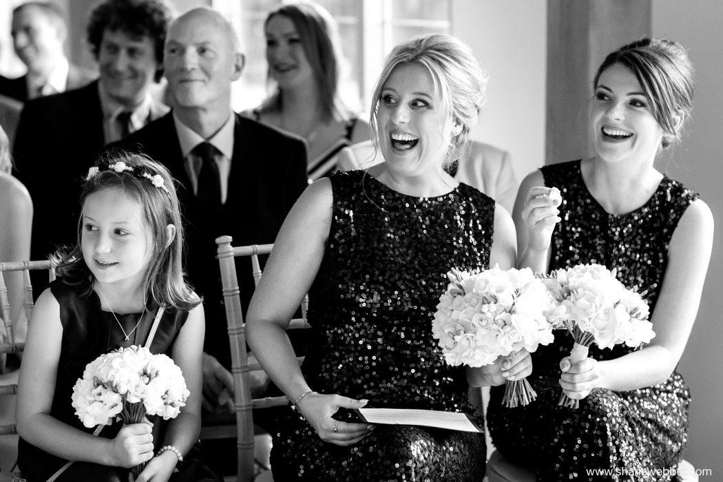 Colshaw Hall wedding ceremony