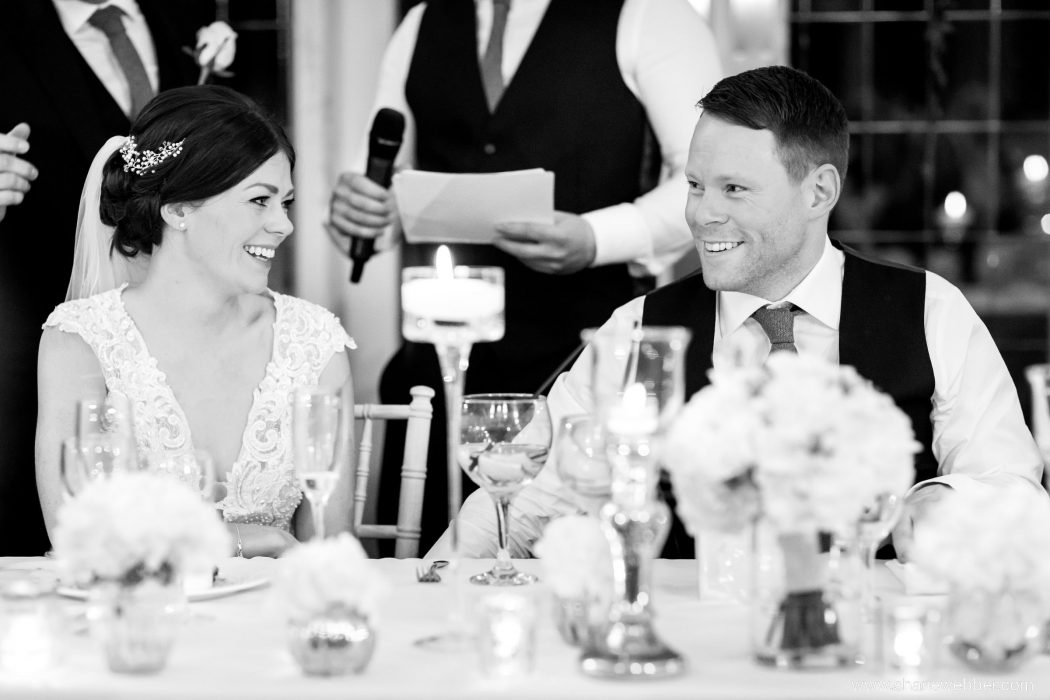 best venue in Cheshire Colshaw Hall black and white photo