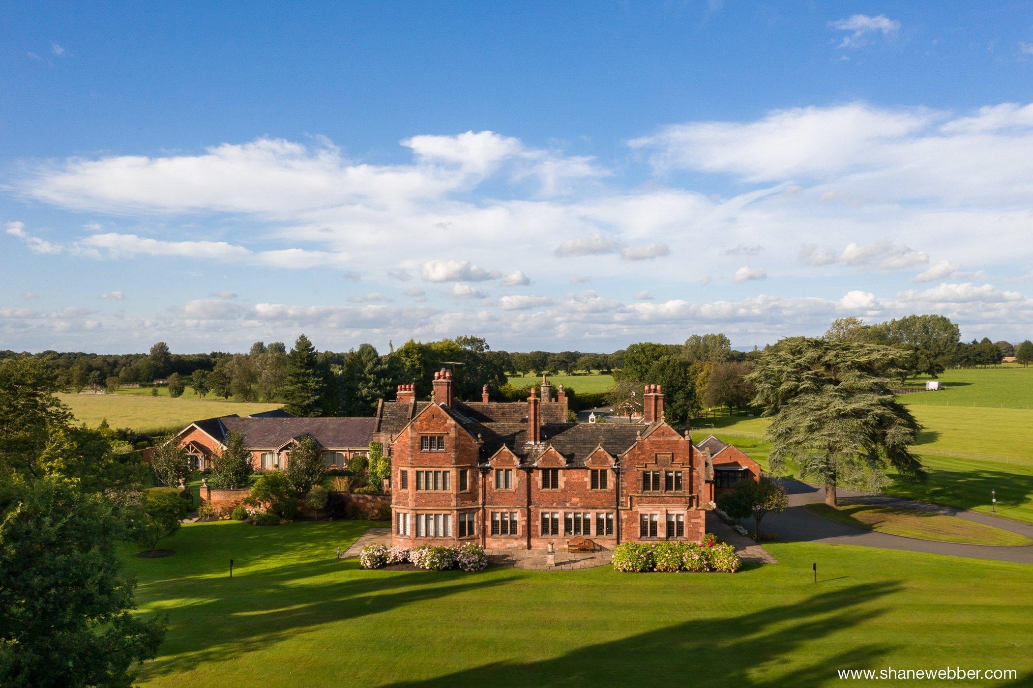 Colshaw Hall Cheshire Wedding venue