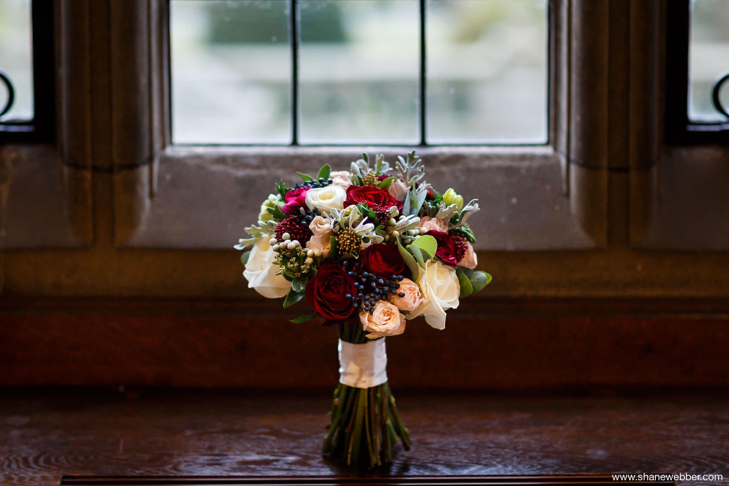 Photo of wedding flowers