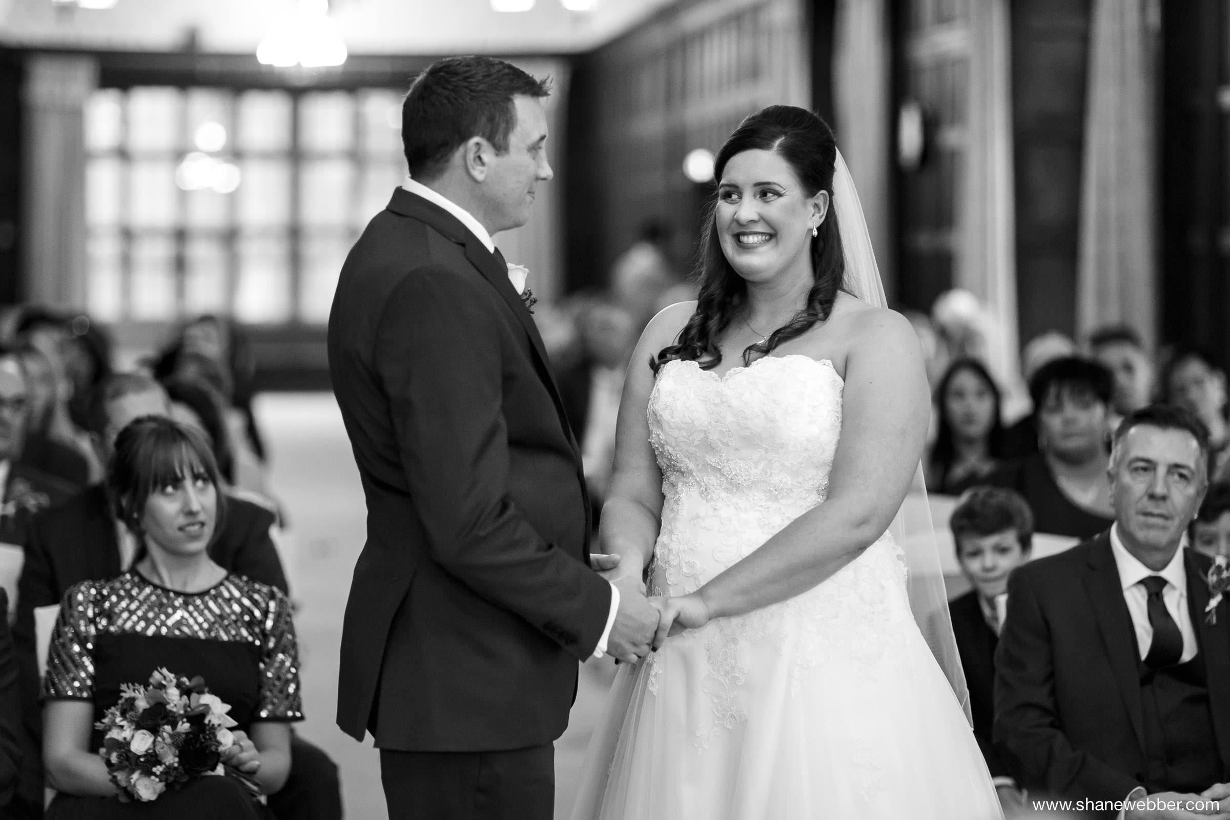 Blakc and white wedding photos