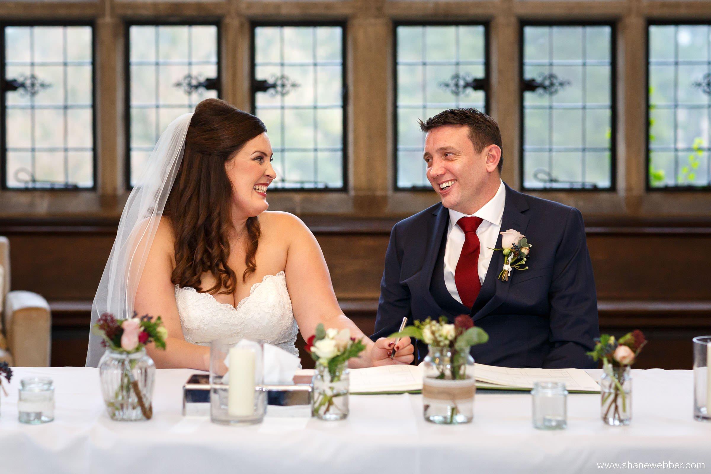 wedding photography at Fanhams Hall