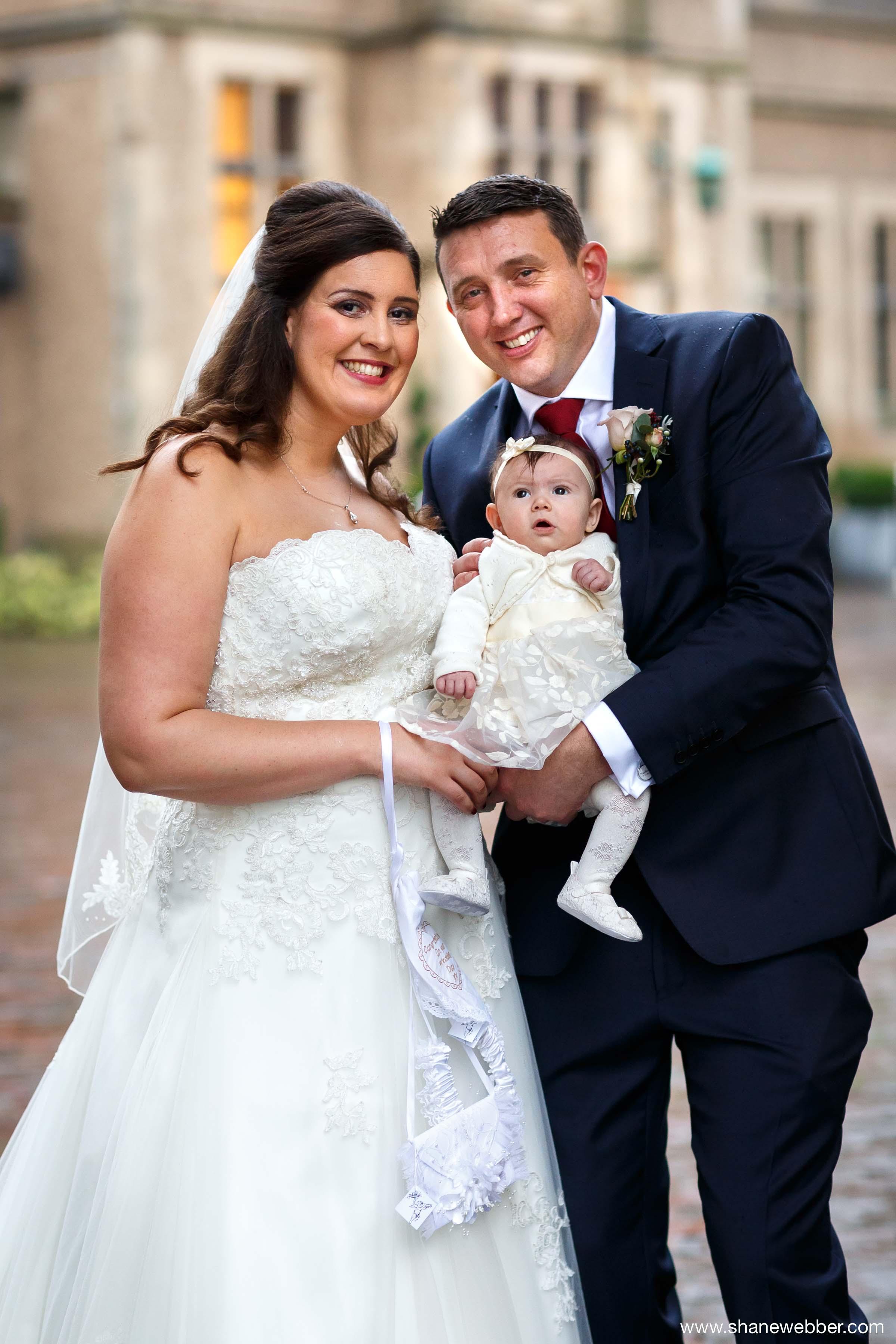 Family wedding photography