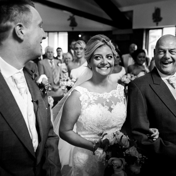 Father of the bride wedding photo