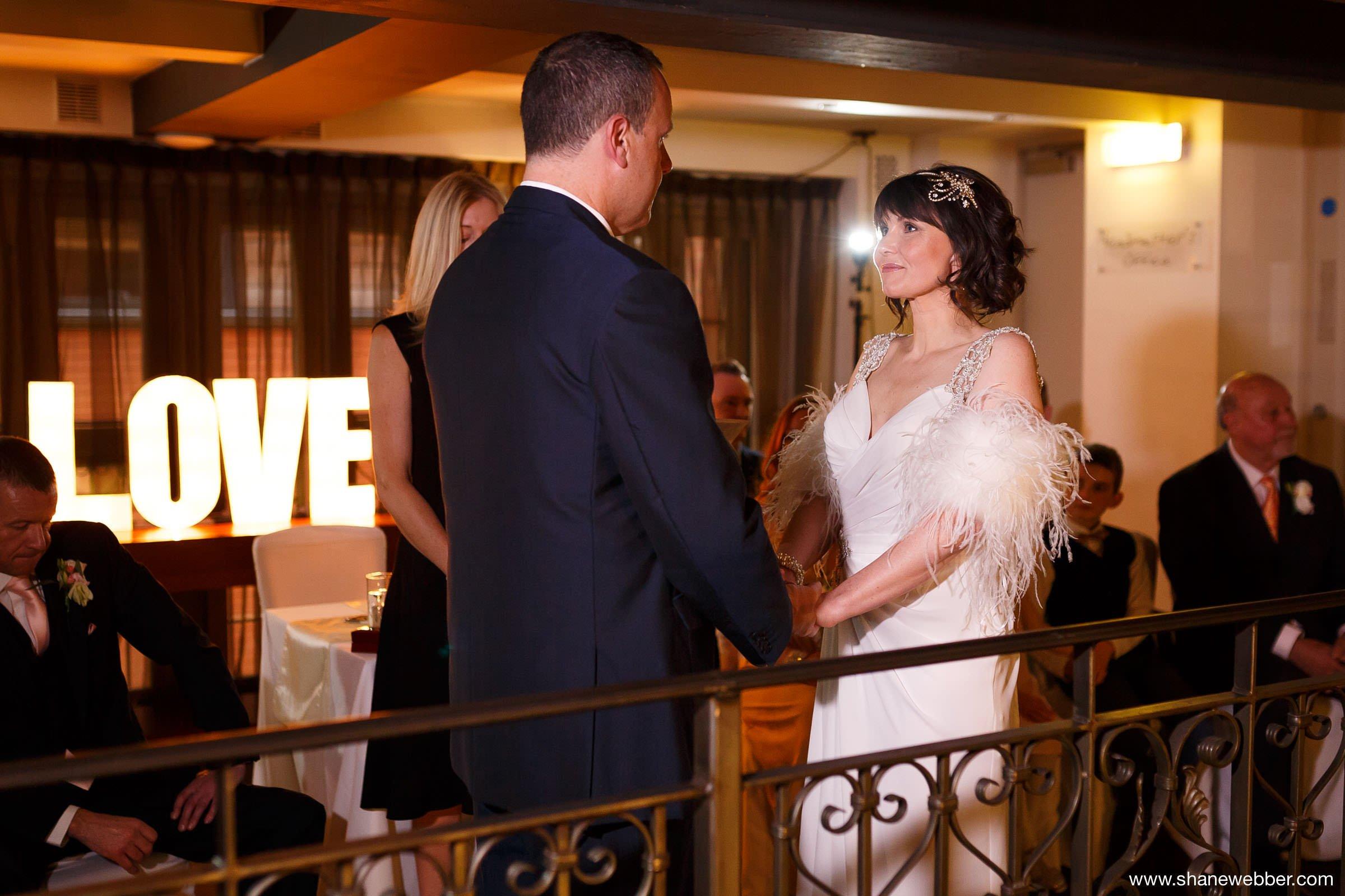 Photo of wedding ceremony