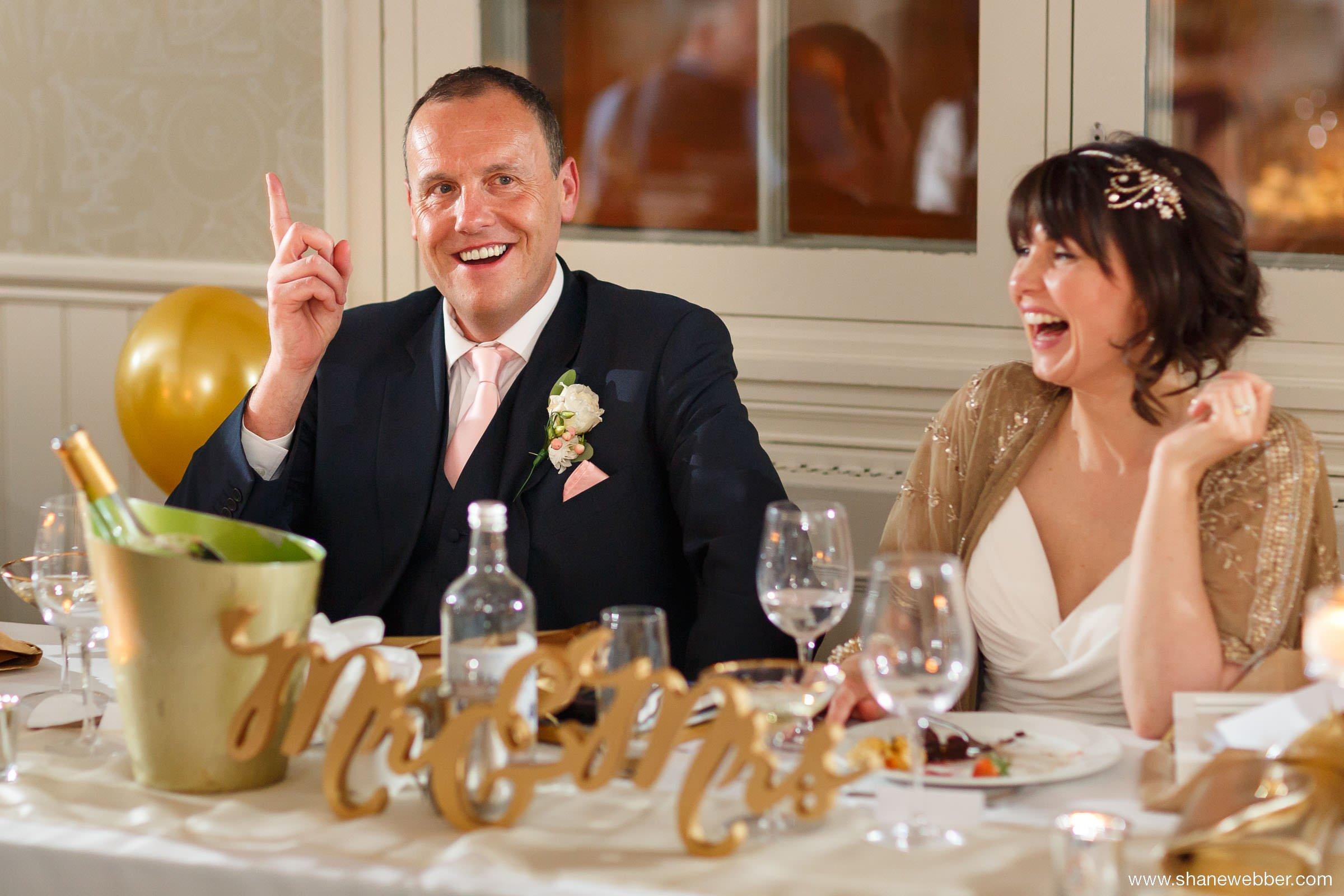 Great John Street Hotel wedding photo
