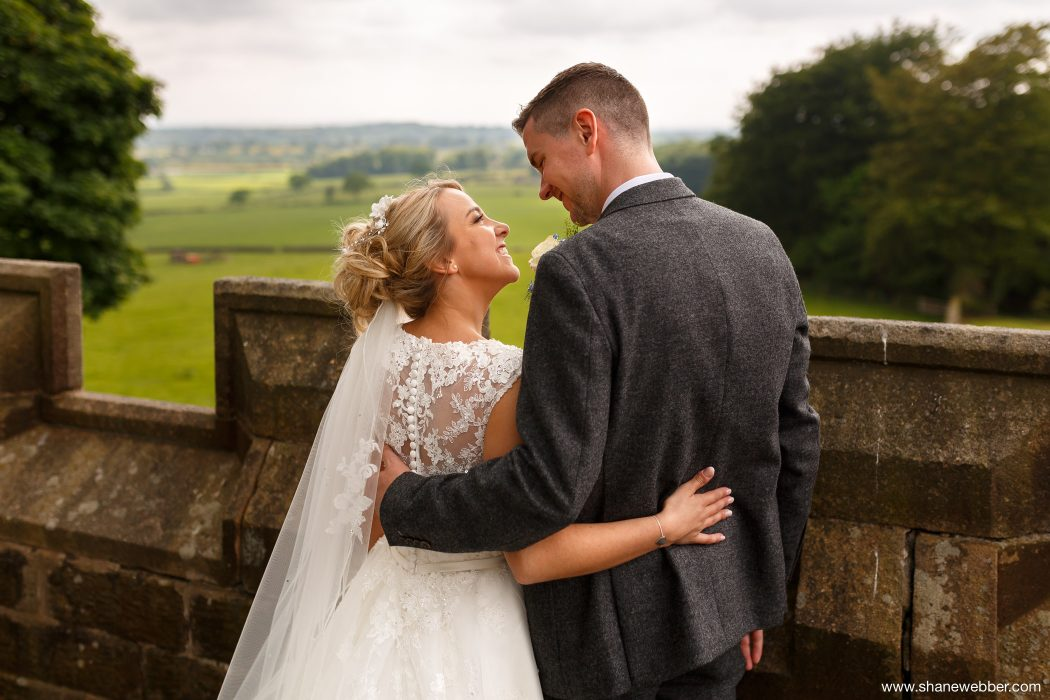 Hoghton Tower wedding picture