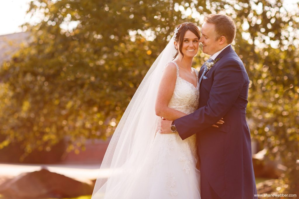 knowsley hall wedding portrait