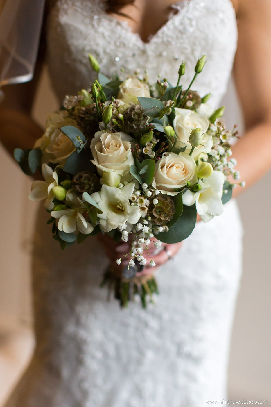 Photograph of bridal flowers