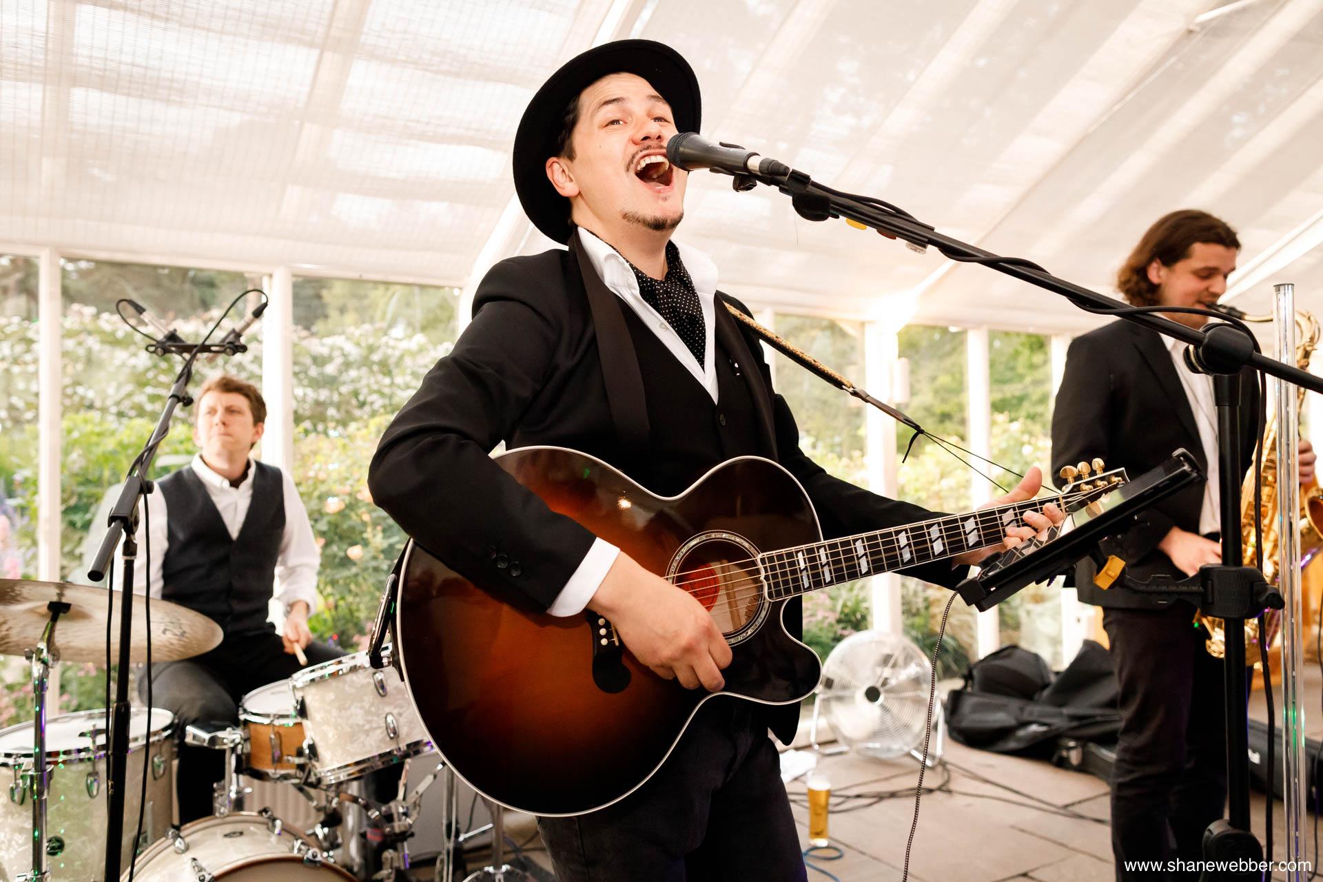 wedding band entertrainement