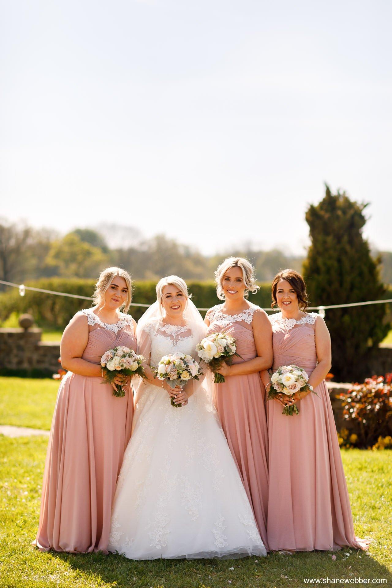 Wedding group photos at Beeston Manor