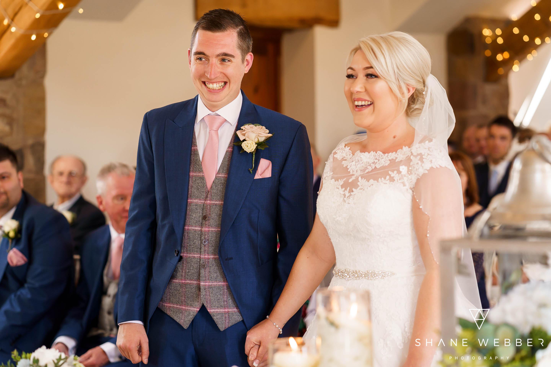 Beeston Manor wedding ceremony