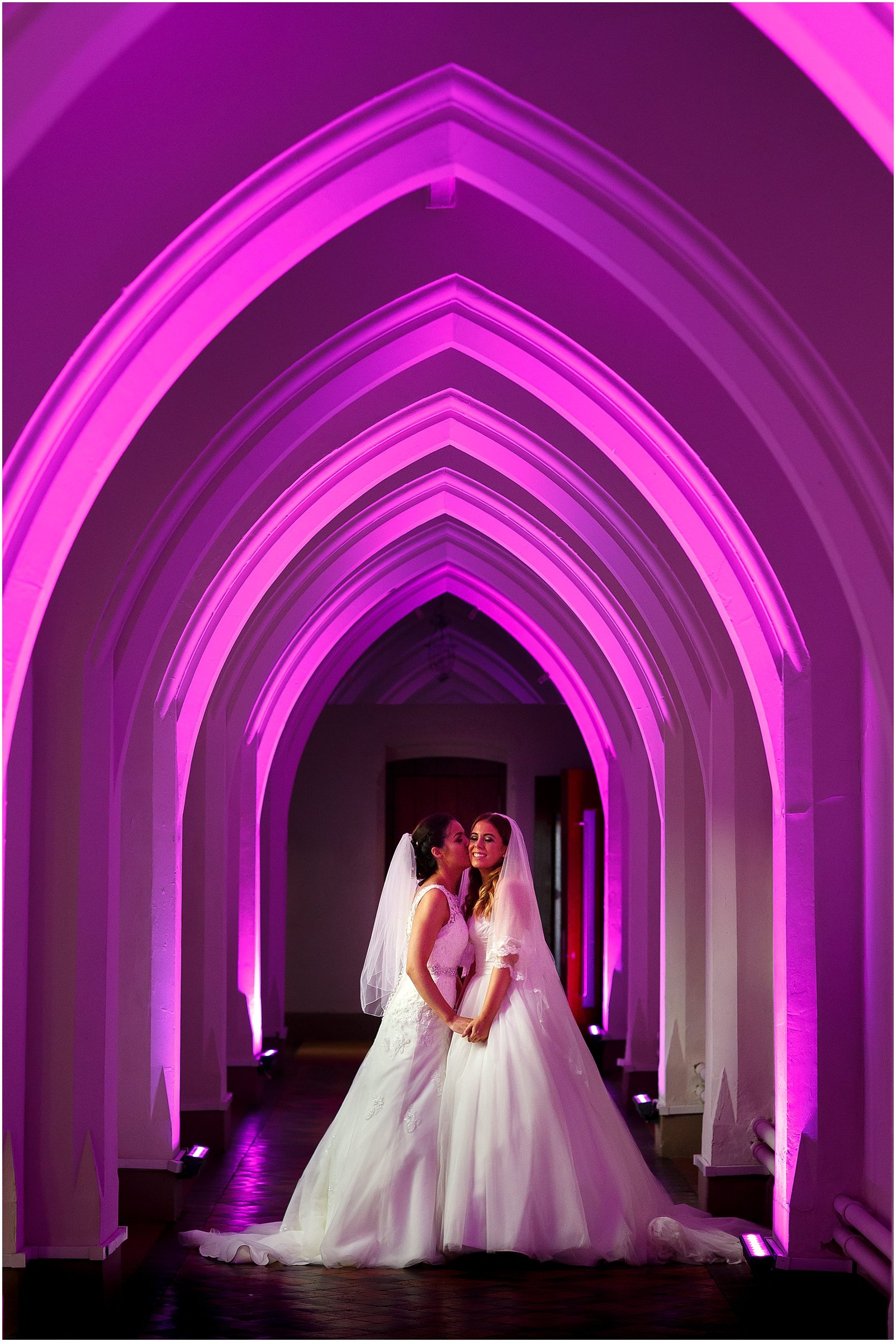 The Monastery Manchester wedding photo