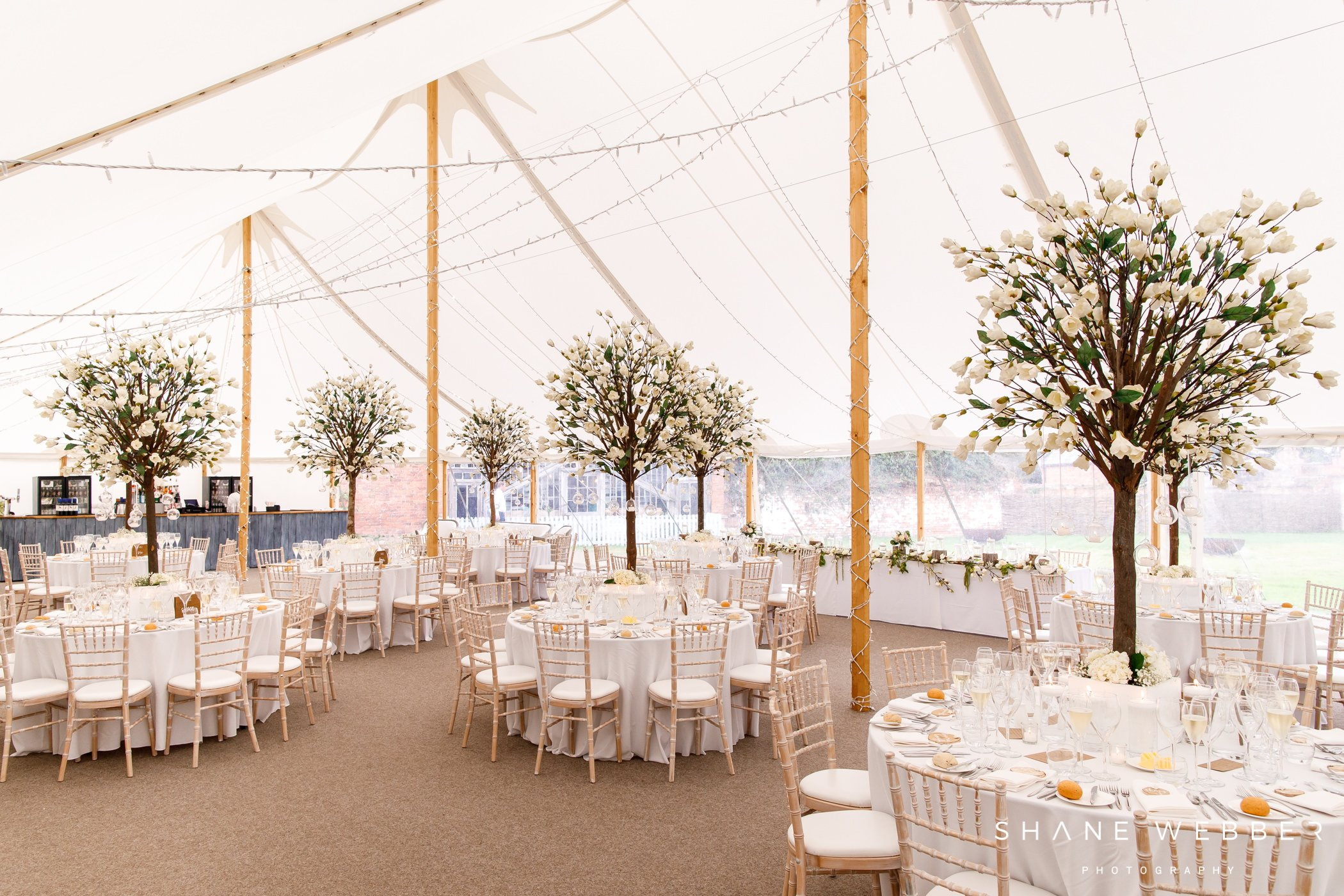 marquee dorfold Hall