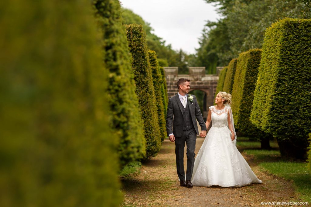 Hoghton Tower summer wedding photography