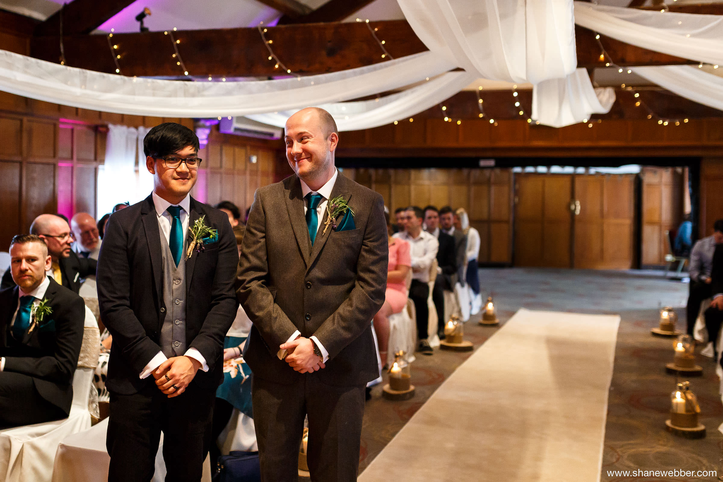 Last Drop Village wedding photo