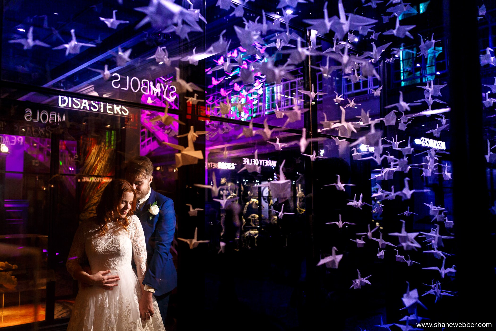 Wedding pictures at Manchester Museum