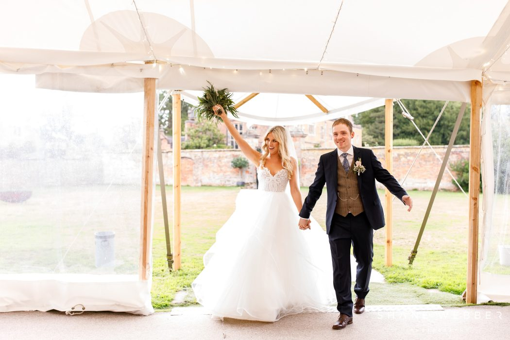 marquee wedding at dorfold hall