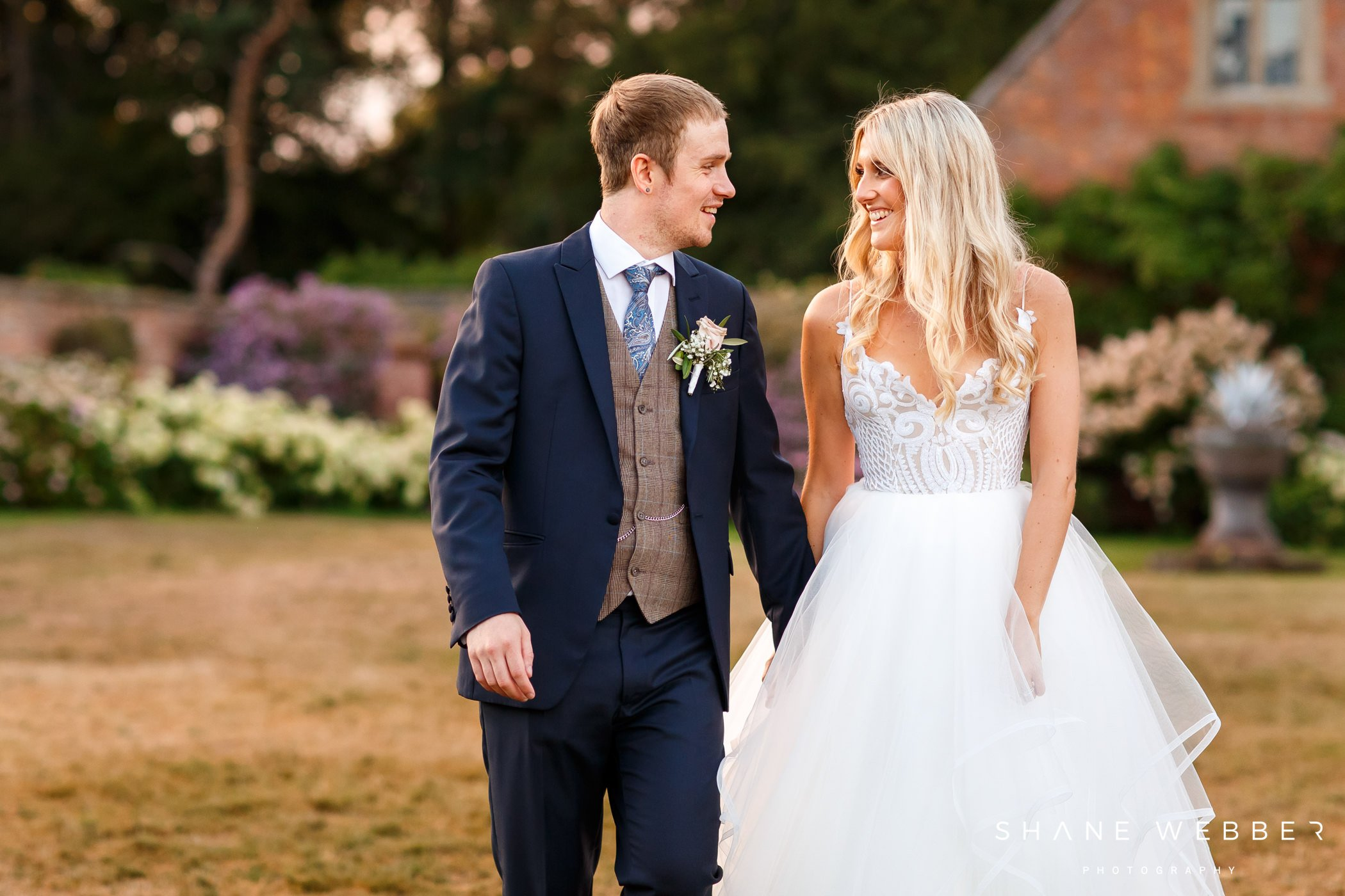 wedding photography portrait at dorfold hall
