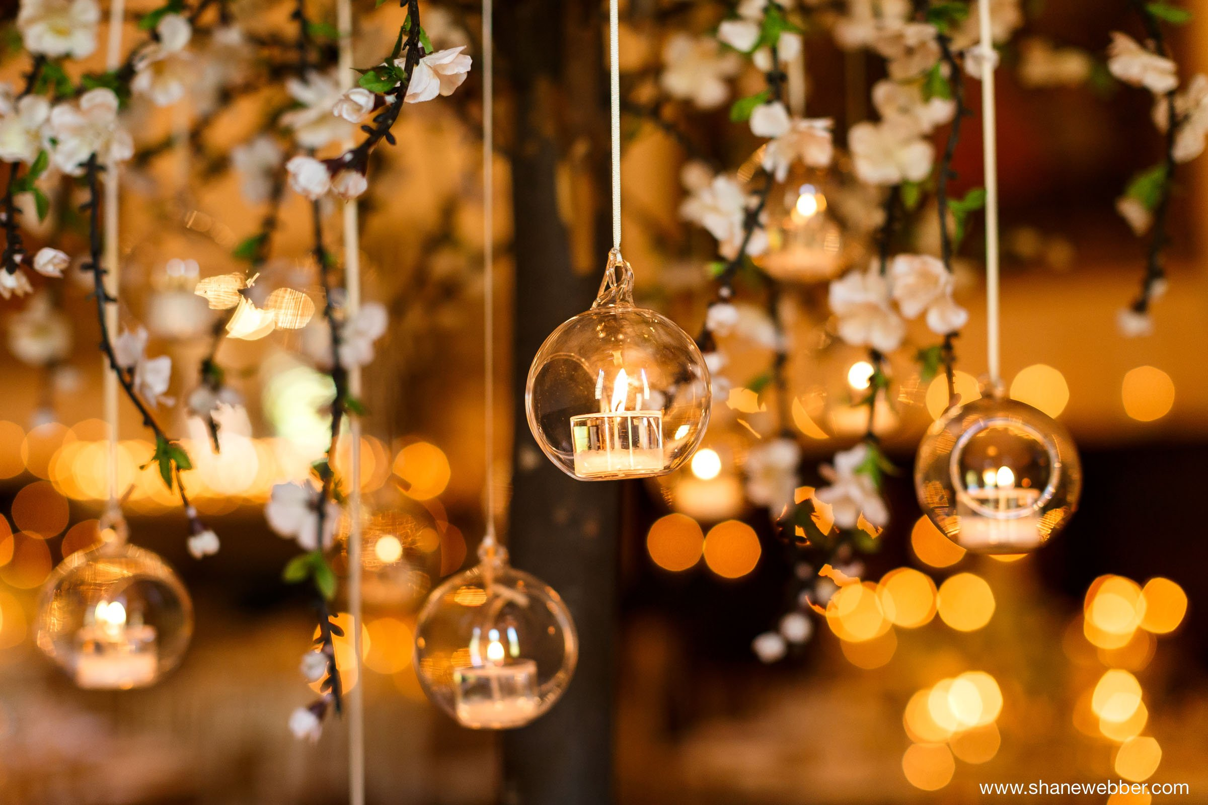 tea light tree centrepiece wedding candles