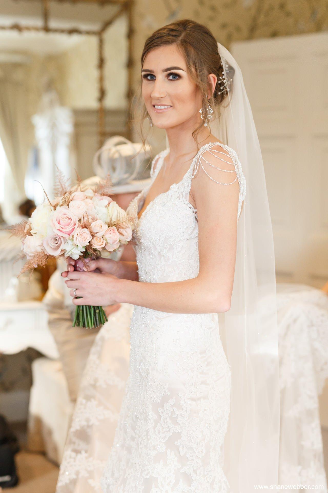 bridal portrait eaves hall