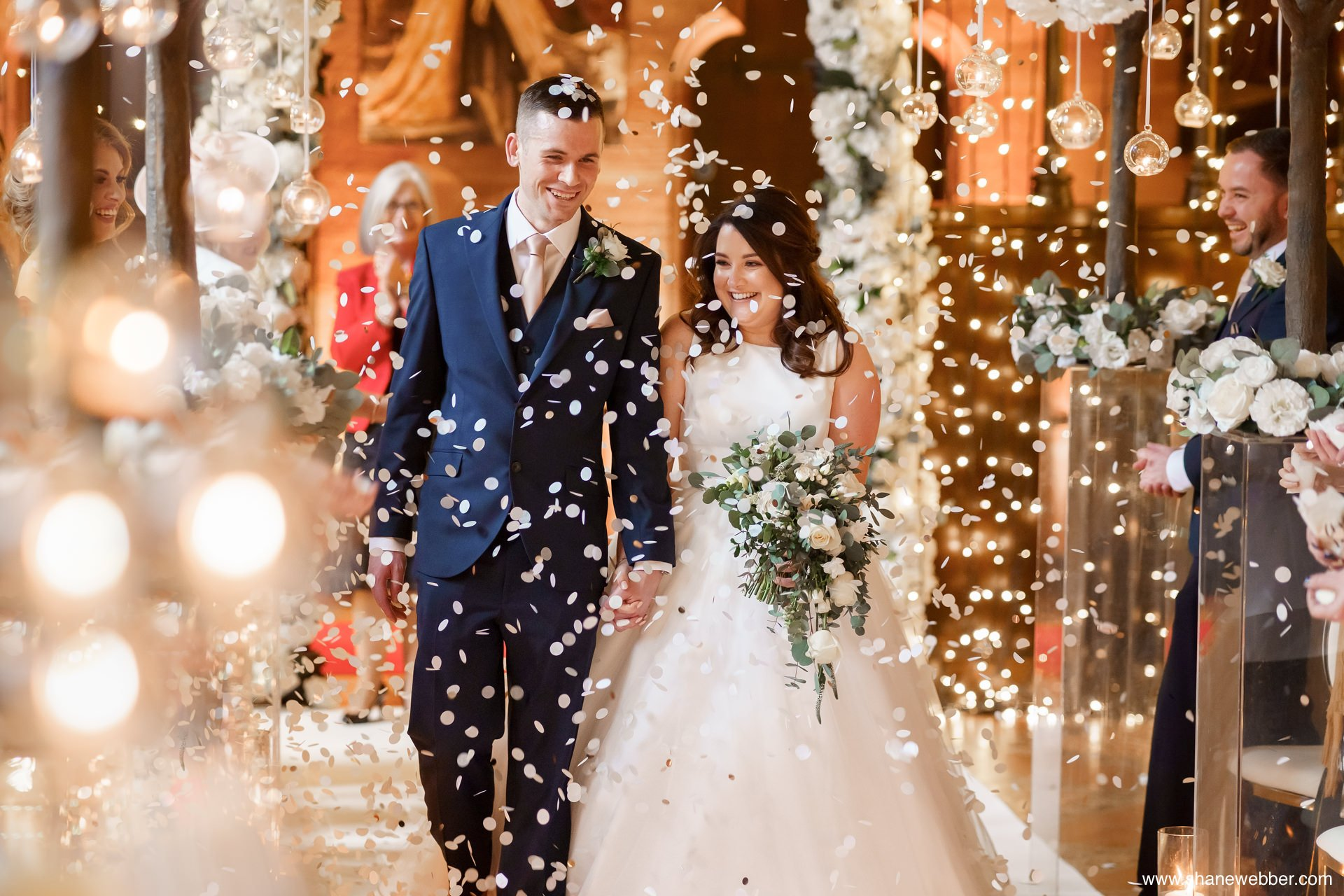 castle wedding cheshire